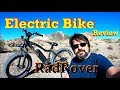 Electric Bike Review in the Desert - The Radrover by Rad Power Bikes - Full Time RV Living
