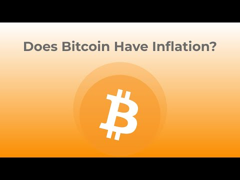 Does Bitcoin Have Inflation?