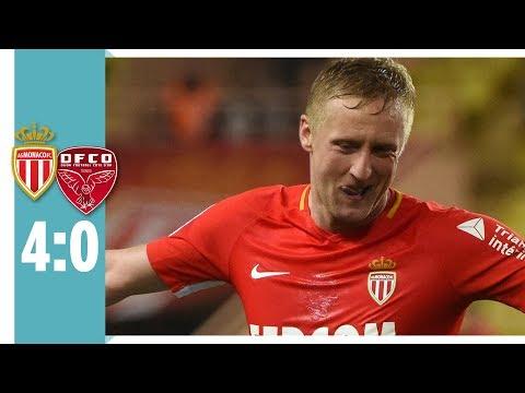 AS Monaco - FCO Dijon 4:0 | Monaco-Verteidiger mit Traumtor in der Nachspielzeit