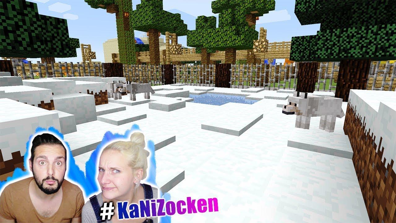 Kaan Nina Sehen Zum Mal MINECRAFT ZOO Der Anderen Art Mit - Minecraft gefangnis spiele