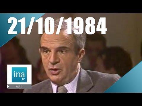 20h Antenne 2 du 21 octobre 1984 - François Truffaut est mort | Archive INA