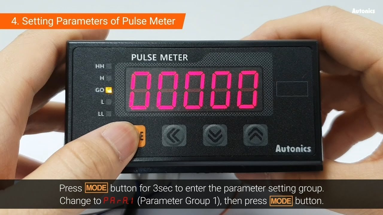 Autonics Tutorial : Using Encoder & Pulse Meter - RPM Measurement - YouTube