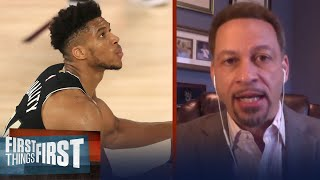 Chris Broussard talks Bucks falling 0-2 to Heat, Milwaukee may not last | NBA | FIRST THINGS FIRST