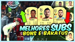 FIFA 20 | SUBSTITUTOS BONS e BARATOS para WL e RIVALS - MELHORES SUBS p/ SEU TIME