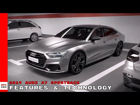 2019 Audi A7 Sportback Features & Technology