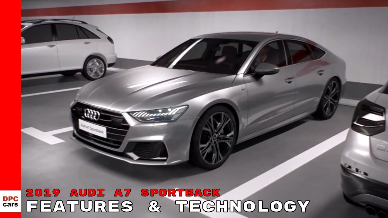 2019 Audi A7 Sportback Features & Technology