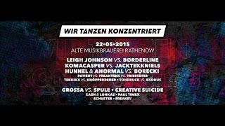 Leigh Johnson vs Borderline (Videoset) @ E.F.N - WIR TANZEN KONZENTRIERT - 22.05.2015