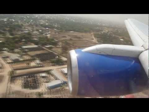 Thomas Cook Airlines B757.200 Manchester To Banjul The Gambia Charter Class