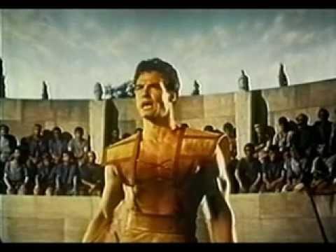 Random Movie Pick - Steve Reeves - The Giant of Marathon (1959) YouTube Trailer