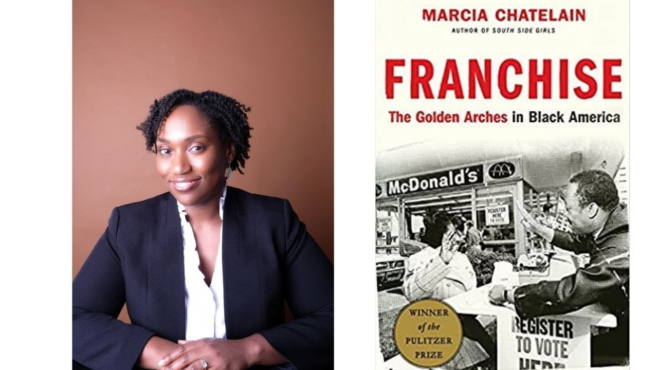 Image for Author Talk: Franchise: The Golden Arches in Black America webinar