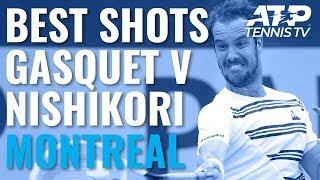 best-shots-moments-in-epic-gasquet-v-nishikori-battle-coupe-rogers-2019