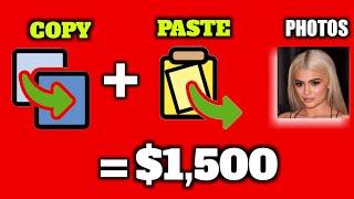 Earn $1,500 Sa Pag Copy And Paste Ng Mga Photos Easy Lang - Paano Kumita Sa YouTube