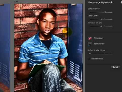 New Features In Photoshop Elements 9: Style Match (Grungy High Key)