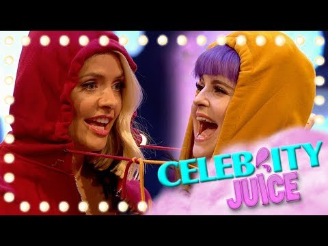 Kelly Osbourne Goes Head To Head With Holly Willoughby...Literally! | Celeb Juice 2019