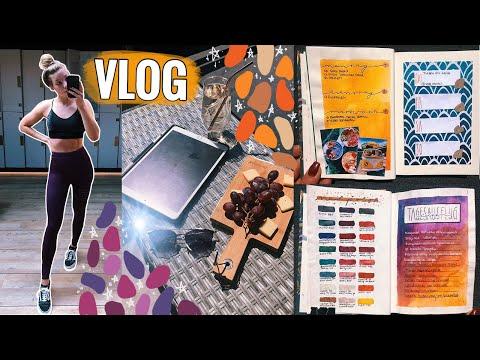 ALLTAGSVLOG: Wieder Sport im Gym, Bullet Journal, Wocheneinkauf, Lernen // JustSayEleanor