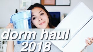 FRESHMAN DORM HAUL 2018 | Random Decor, Organization, + More