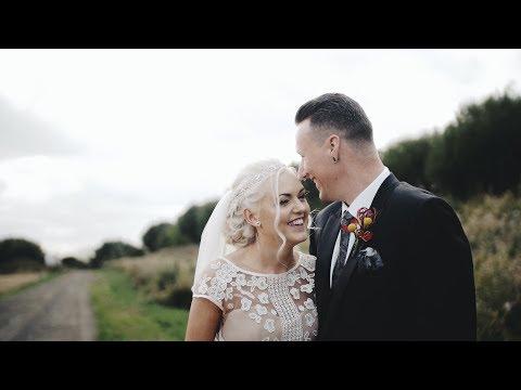 MATT & LIZZIE | Houchins Wedding Barn | Wedding Film | Highlights Trailer