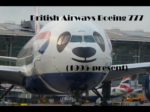 Fleet History - British Airways Boeing 777 (1995-present)