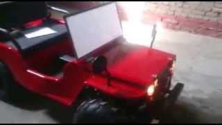 видео Электрический Jeep SHERHAN