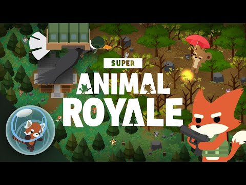 Super Animal Royale Trailer 2 | 64 adorably murderous animals fight for FURvival