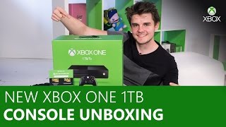 Exclusive New Xbox One 1TB Unboxing and Controller | Xbox On