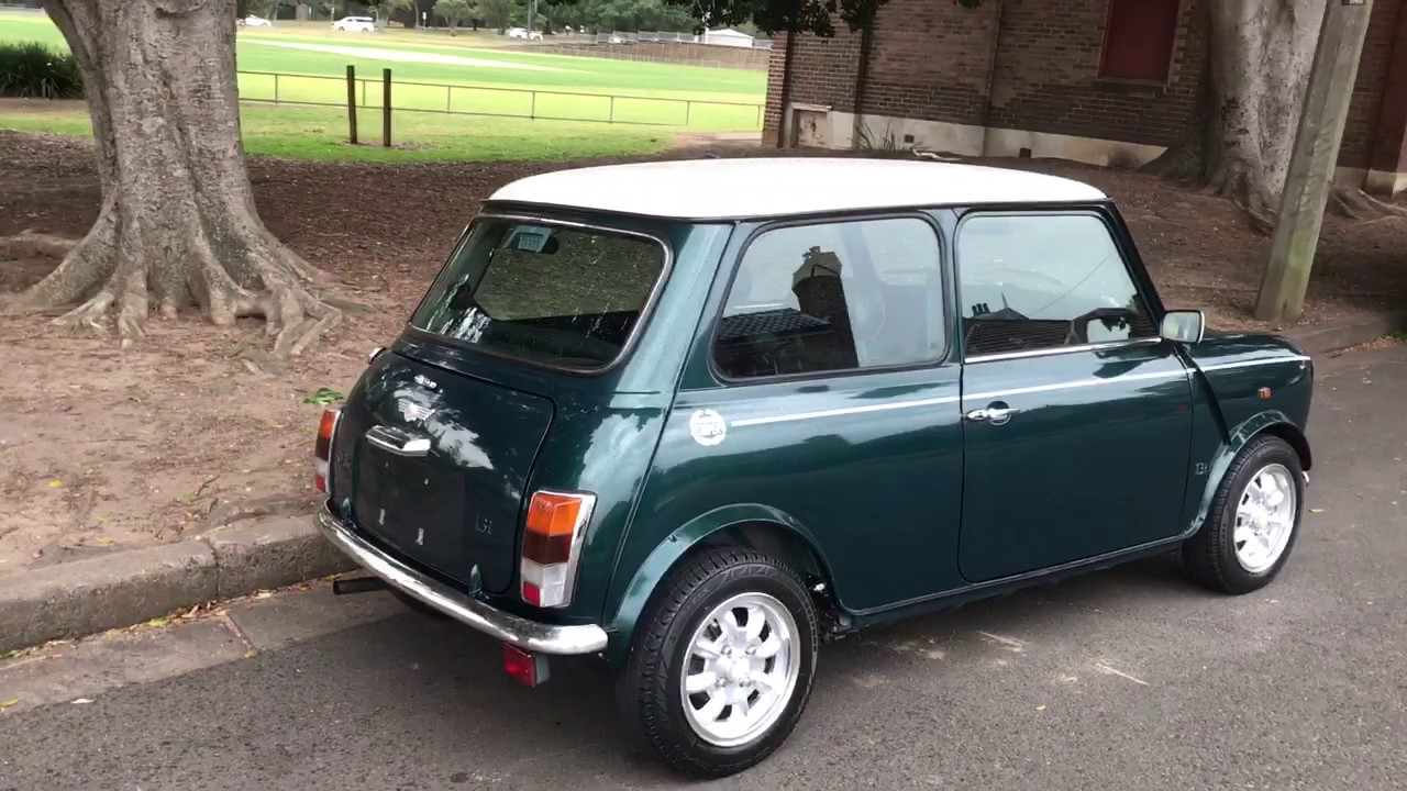 Rover Mini Cooper Classic British Racing Green With Air Conditioning
