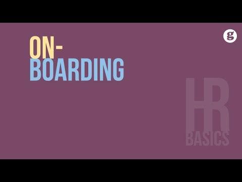 HR Basics: Onboarding