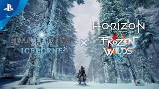 Monster Hunter World: Iceborne x Horizon Zero Dawn: The Frozen Wilds - New Gear Breakdown | PS4