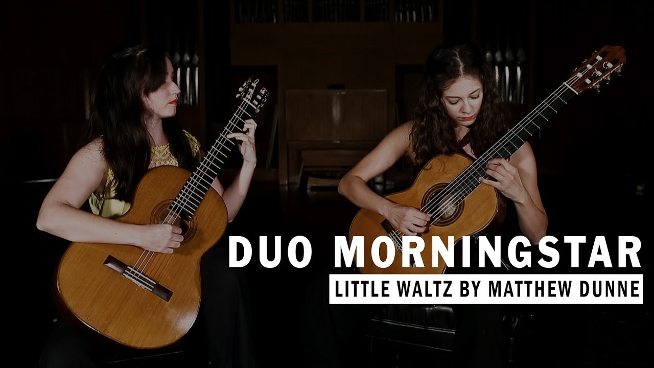 Duo Morningstar performs Little Waltz by Matthew Dunne