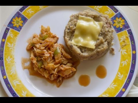 How To Cook Caribbean Cuisine with Larry Fournillier S02E11 - Tutu & Saltfish