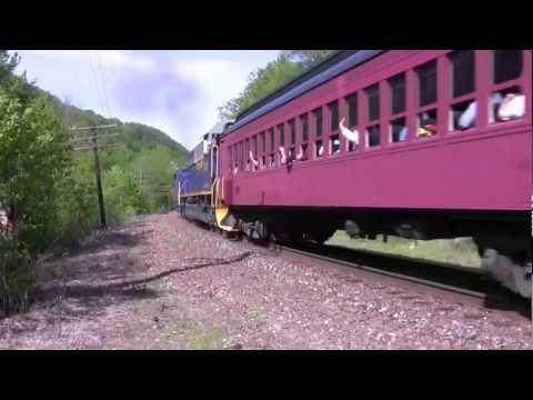 Reading & Northern #425- At The North Portal Of The Rockport, Pa. Tunnel