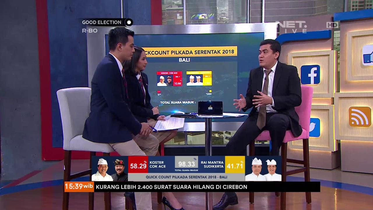 GOOD ELECTION: Talkshow, Quick Count Pilkada Serentak 2018 ...