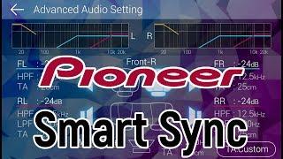 Pioneer MVH S510BT + Android настройка по Bluetooth, с помощью Smart Sync