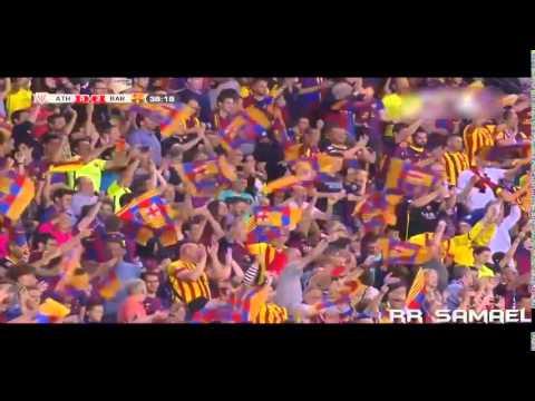 FC Barcelona vs Atlético de Bilbao(3-1)-Final de Copa del Rey-Narración de Alfredo Martinez