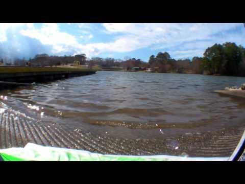 How I make the hovercraft skirt + daytime lake run