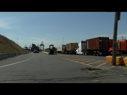 Long Backups By NJ Ports Snarl Traffic