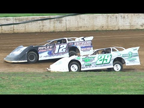 RUSH Crate Late Model Heat Two | Eriez Speedway | 7-28-19