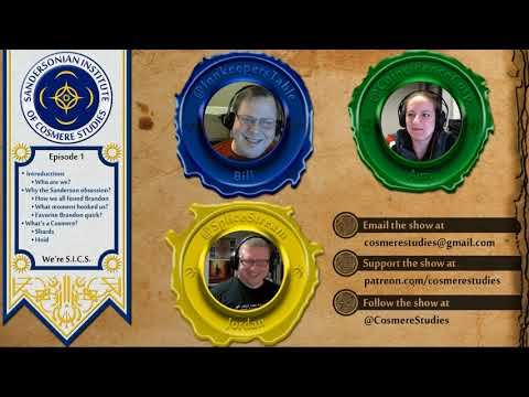 The Sandersonian Institute of Cosmere Studies - Ep001 - What is a Hoid?