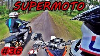 DMV Special #36 - Latanko po szutrowych drogach - Zwiedzanie rowu - Supermoto Fun!