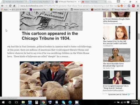 America the new Nazi dictatorship part 2