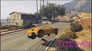 GTA 5 FAILS & WINS #1 (Grand Theft Auto V Epic Stunts & Funny Moments Compilation) - DJEvoix