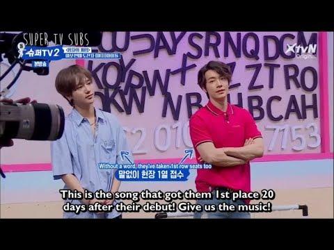 [Super Tv 2  Ep6 Eng Sub] Suju Fanboying Over (G)I-DLE