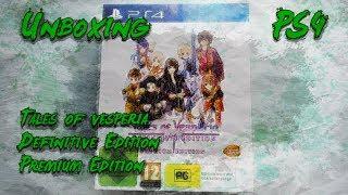 Tales of Vesperia    Definitive Edition Premium Edition    Unboxing    PS4    En Español