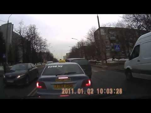 Минск драка таксиста и...