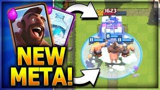 HOG FREEZE!! NEW TOP META!! Best New Hog Deck! Hog Freeze Elite Barbarians! Clash Royale Strategy