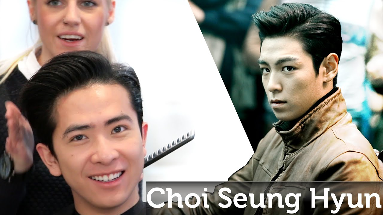 Asian Hair T O P Choi Seung Hyun 최승현 男子发 Big Bang Youtube