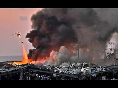 مراسل أخبار الآن: انفجار مرفأ بيروت دمر واحرق 90% تقريباً من ما موجود في المرفاً  - نشر قبل 39 دقيقة