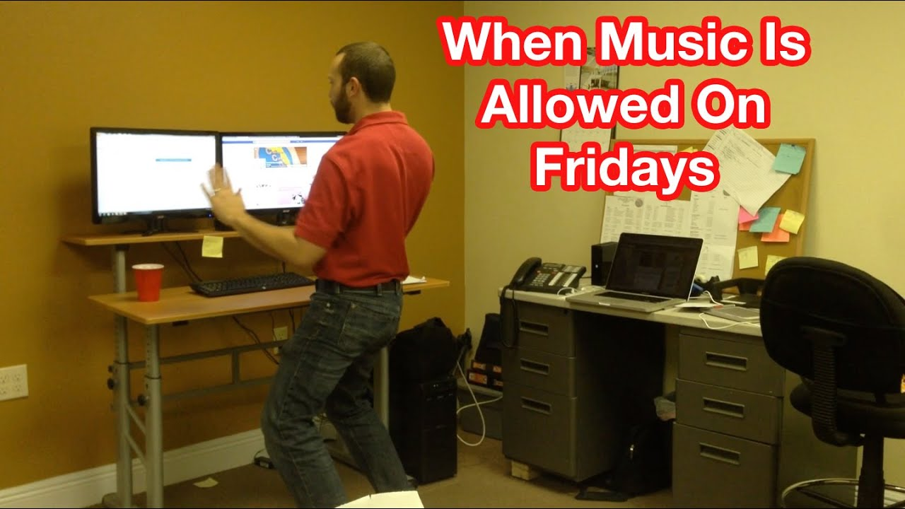 Happy Fridays - Music In The Office