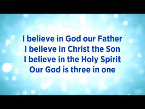 Lirik I Believe In God Kupercaya Lagu Rohani Indonesia Menyenangkan Hati. I Believe In God.
