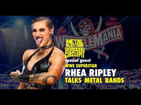 "WWE's Rhea Ripley Talks ""Mitch Lucker Stomp,"" WrestleMania 37 | Metal Injection"